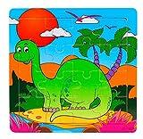 Ularma Madera de los cabritos 16 pieza rompecabezas juguetes para la educaci�n de los ni�os y Puzzles juguetes de aprendizaje (multicolor11)