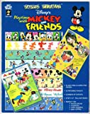 img - for Paper Pizazz: Playtime With Mickey and Friends book / textbook / text book