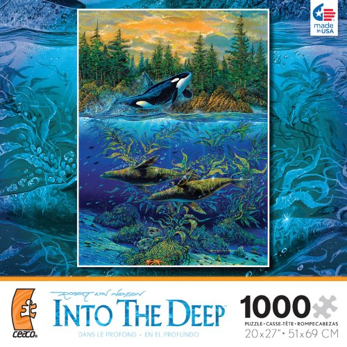 Robert Lyn Nelson Into The Deep Northern Summer 1000 Piece Jigsaw Puzzle - 1