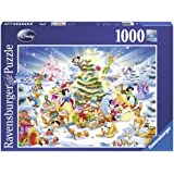 Ravensburger 19287 Disney Christmas Puzzle 1000 pezzi Fantasy