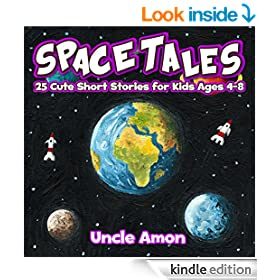 Space Tales (Early and Beginner Readers): 25 Out of This World Short Stories for Kids (FREE Coloring Book Included!) (Beginner Reading Series)