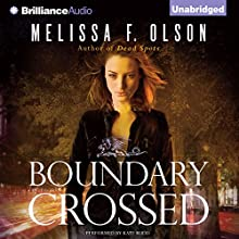 Boundary Crossed: An Old World Novel, Book 1 (       UNABRIDGED) by Melissa F. Olson Narrated by Kate Rudd