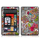 Kindle Fire Skin Kit/Decal - Doodles Color - Valentina Ramos (does not fit Kindle Fire HD)