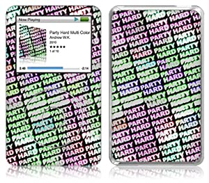 Music Skins iPod Classic用フィルム  Andrew WK - Party Hard Multi Color  iPod Classic   MSRKIPC00211