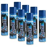 96 cans (master case) of Power 7x 300ml Super Refined Butane Fuel