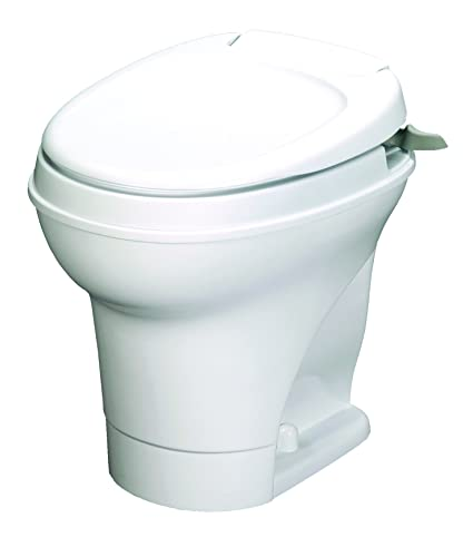 Aqua-Magic V RV Toilet Hand Flush / High Profile / White - Thetford 31667