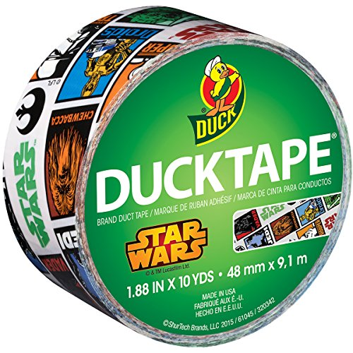 Duck Brand 283908 Licensed Duct Tape, Star Wars, 1.88 Inches x 10 Yards, Single Roll