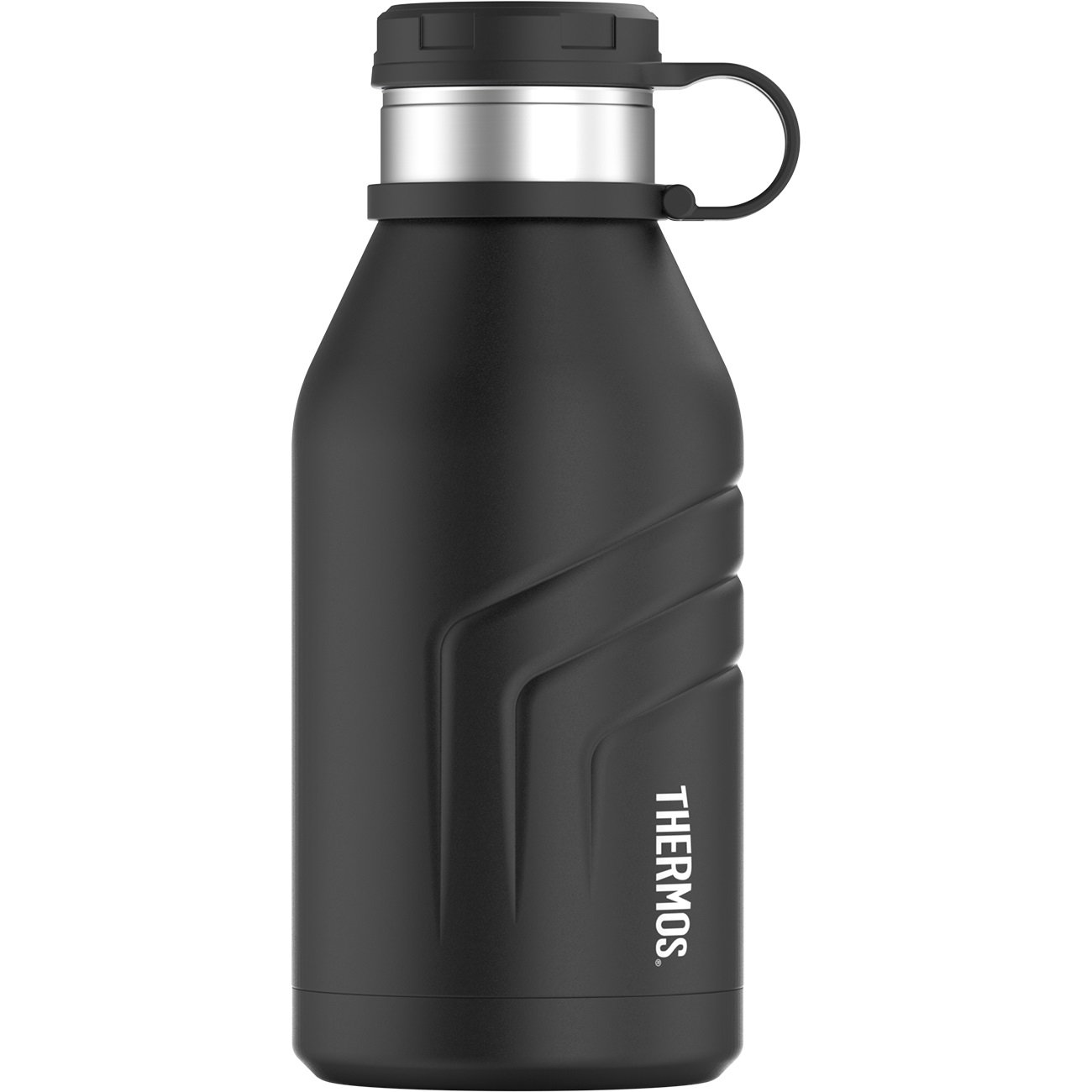 써모스 음료수 물통 Thermos Element 5 Vacuum Insulated 32 oz Beverage Bottle with Screw Top Lid, Black