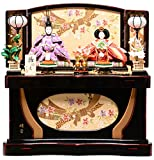 【雛人形収納飾】小三五親王飾:爛漫雛:雅泉作【雛人形】【親王飾】
