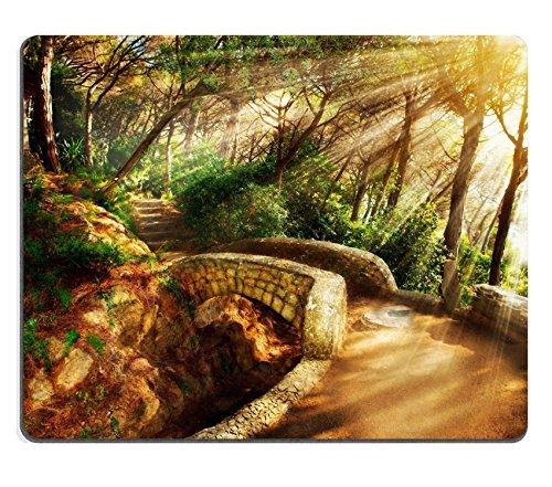 mousepad-mistico-park-vecchi-alberi-e-antica-pietra-ponte-vialetto-immagine-id-23961189-by-liili-per