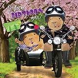Sidecar Hijinx - Crazy Crew Birthday Card