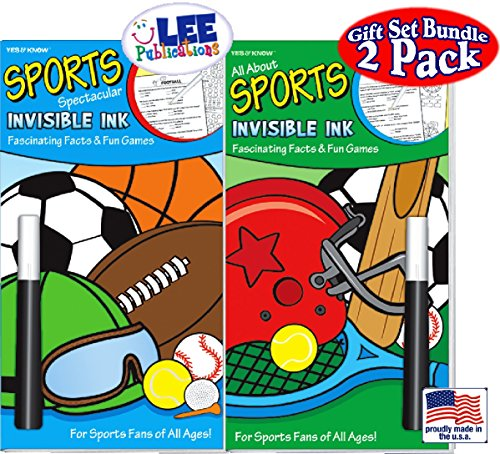 Invisible Ink: Yes & Know Sports Game Books