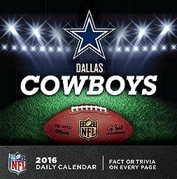 Turner Dallas Cowboys 2016 Box Calendar, January-December (8051436) by Turner