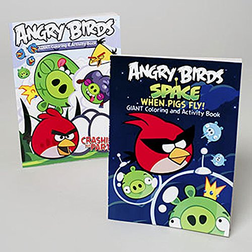 Set of Angry Birds Coloring and Activity Books
