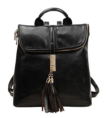 Black Faux Leather Shoulder Bag 92