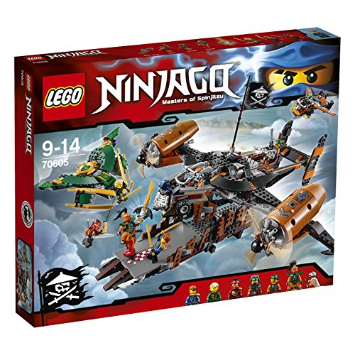2016 NEW LEGO Ninjago 70605 Misfortune's Keep - 754pcs Building Kit - 61gcdCG5WdL - 2016 NEW LEGO Ninjago 70605 Misfortune's Keep – 754pcs Building Kit