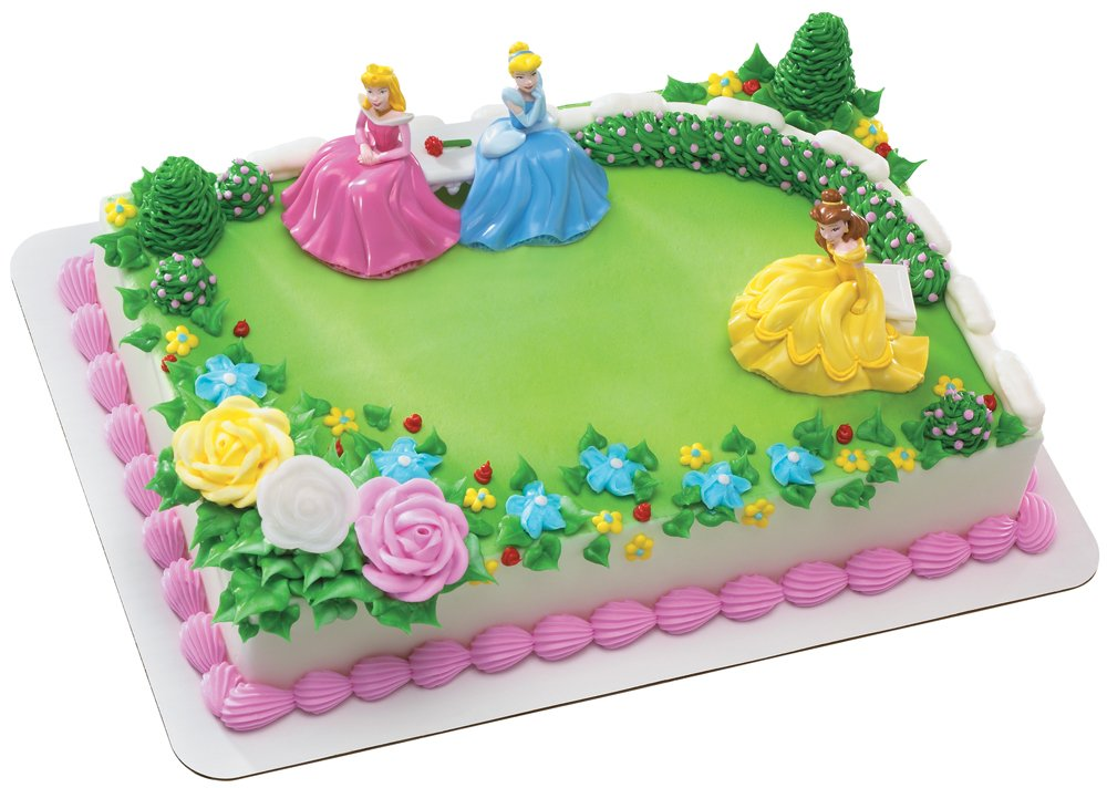 Disney Cake Decor : Disney Princess Cake Decorations Birthday Girls Wikii