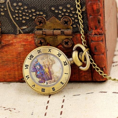 Necklace Pendant Clock Pocket Watch Quartz Analog Small Necklace Women Mini Gifts High Quality