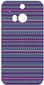 Tribal Patterns Back Cover Case for HTC One M8