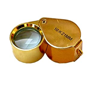 PuriTEST Brand IDENTIFY GOLD STERLING SILVER-6 TESTING BOTTLE KIT-SCALE-EYE PIECE (Color: Black)