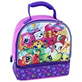 Shopkins Dual Compartment Insulated Lunch Bag - Great for Back to School!
