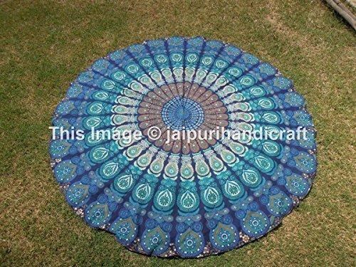 mandala-printed-cotton-handmade-tablecloth-70-round-roundies-beach-throw-by-madhu-international