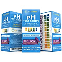 pH Test Strips for Testing Alkaline and Acid Levels in the Body. Track & Monitor your pH Level using Saliva and Urine. Get Highly Accurate Results in Seconds. 125 strips per bottle (100 + 25 free). from Just Fitter