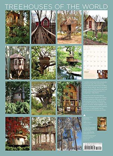 Treehouses of the World 2015 Wall Calendar: -16month calendar- (Wall Calendars 2015)