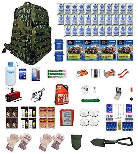 Urban-Survival-Kit-Deluxe-Four-For-Earthquakes-Hurricanes-Floods-Tornados-Emergency-Preparedness
