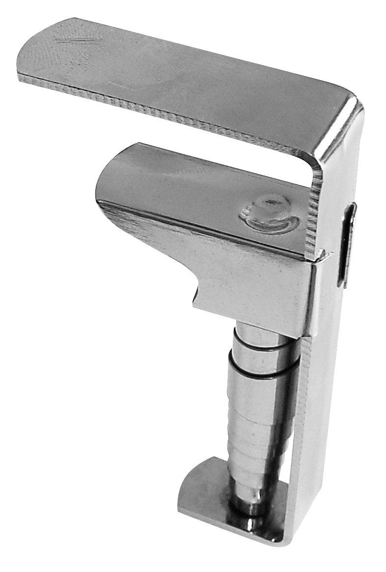 Fackelmann 14473 - Sujeta manteles (4 unidades), acero   Más información y revisión del cliente