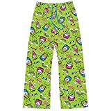 Women's Chillin With My Gnomies Lounge Set - Green Pajama Pants
