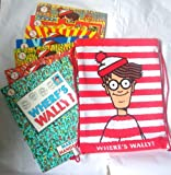 Martin Handford Where's Wally Collection: 7 Books in Kitbag: Where's Wally, Where's Wally Fantastic Journey, Where's Wally In Hollywood, Where's Wally Now, Where's Wally Wonder Book, The Great Picture Hunt, The Incredible Paper Chase