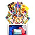 70s Retro Sweets Large Gift Box - Sweet Hamper