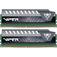 Patriot Viper Elite 8GB (2 x 4GB) PC4-17000 2133MHz DDR4 288-Pin UDIMM Desktop Memory (Gray)