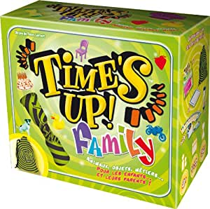 Asmodee - TU07 - Jeu d'ambiance - Time's Up! Family