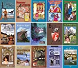 D  L  Moody Colportage Library Reprint Set of 15 Volumes - Stories Include: Alone In London, Nobody Loves Me, Christie's Old Organ, A Peep Behind the Scenes, Teddy's Button, Winter's Folly, Aurie's Wooden Leg, Legend Led, Probable Sons, and More