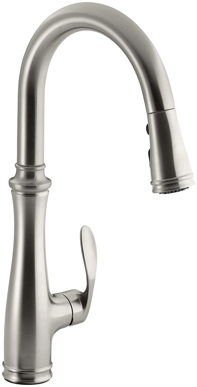 kohler best pull down kitchen faucet