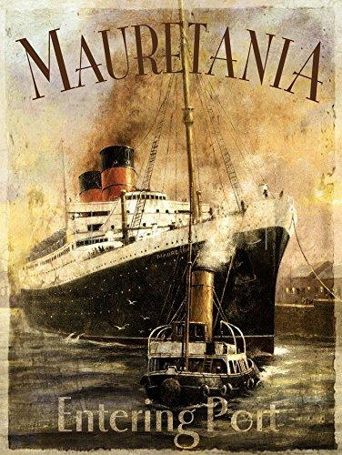 mauretanie-cunard-blanc-star-line-1906bateau-a-vapeur-ocean-premium-panneau-mural-en-metal-acier-aci