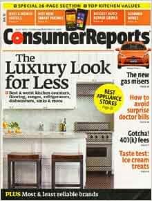 Consumer Reports July 2012: Amazon.com: Books