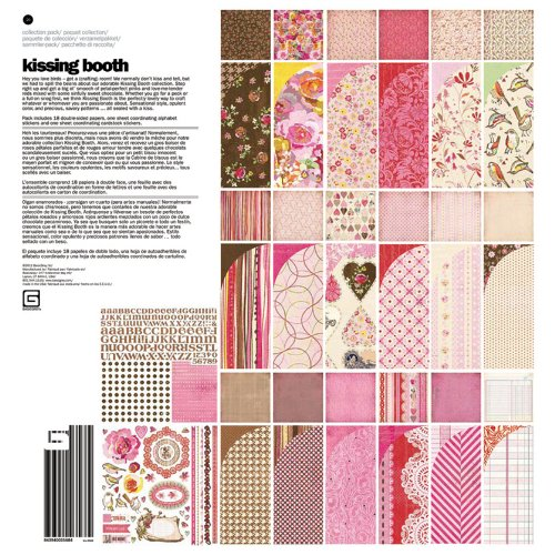 BasicGrey Kissing Booth Collection for Scrapbooking