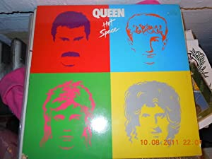Hot space (1982, US) / Vinyl record [Vinyl-LP]