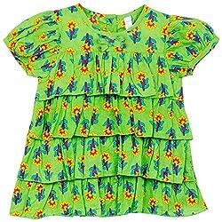 Snuggles Girls Layered Dress - Green (18-24M)
