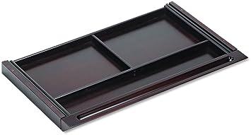 Tiffany Industries NCDMAH Napoli Series Center Desk Drawer, 30 x 18 x 2, Mahogany