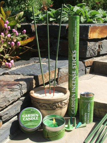 All Natural Insect Repellent Outdoor Garden Incense Sticks 2 5 Hours Burn Time Ebay
