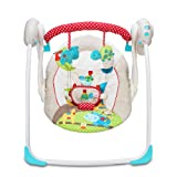 LZTET Chair Bouncers Baby Rocking Chair Baby Electric Cradle Rocking Chair Recliner Comfort Swings Reclining Chairs Soothing Vibration Baby Artifact Sleepy Newborn Shaker Sleeping Basket,White (Color: White)