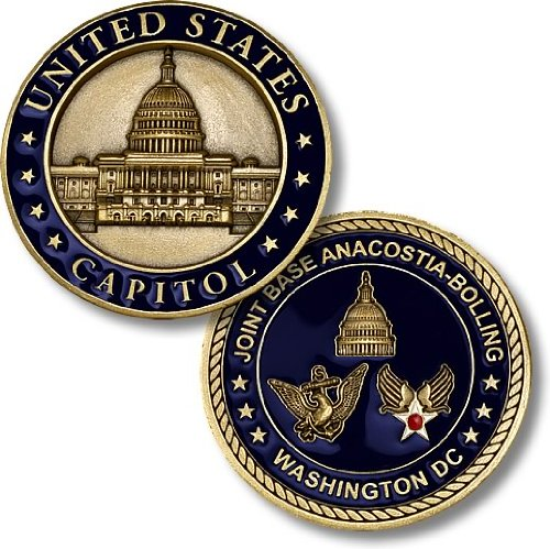 Joint Base Anacostia-Bolling Challenge Coin