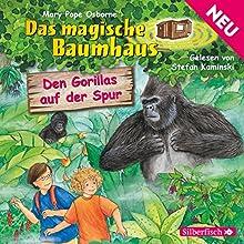 Den Gorillas auf der Spur (Das magische Baumhaus 24) Hörbuch von Mary Pope Osborne Gesprochen von: Stefan Kaminski