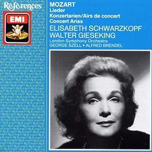 Lieder / Four Concert Arias