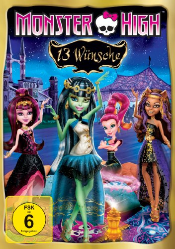 Monster High - 13 Wünsche, DVD