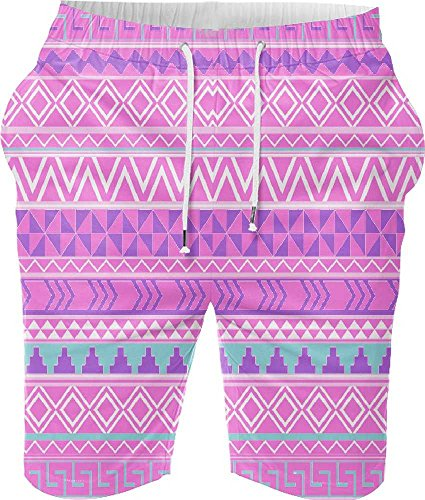 Snoogg Digital Printed Mens Casual Beach Jogger Shorts With Pockets Boxer Style